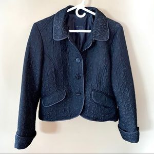 The Limited Quilted Black Jacket Large